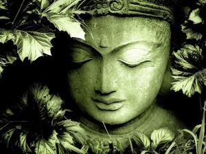 green_buddha by Anu Sri