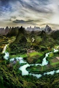 Guangxi, China  by Anu Sri