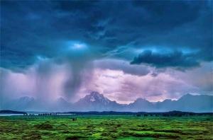Rains from Sherril V
