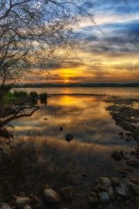 Sonnenuntergang Wallersee