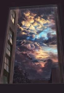 storm clouds from Elena Dukić