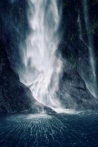 Bowen Falls by Karin E. Lips