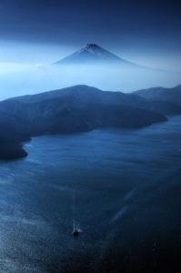 Mt Fuji from anu sri