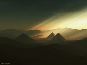 Pyramids from Inga Nielsen