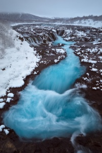 Bruarfoss Waterfall, Iceland from Colby Brown