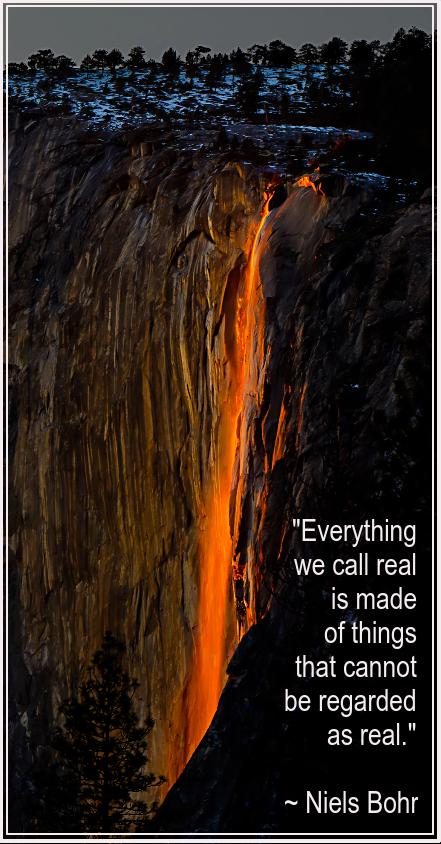 Horsetail falls Yosemite by Don Vilfer