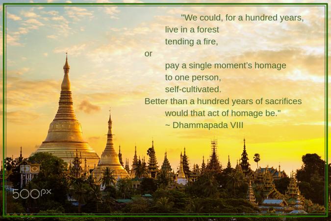 Shwedagon pagoda from Patrick
