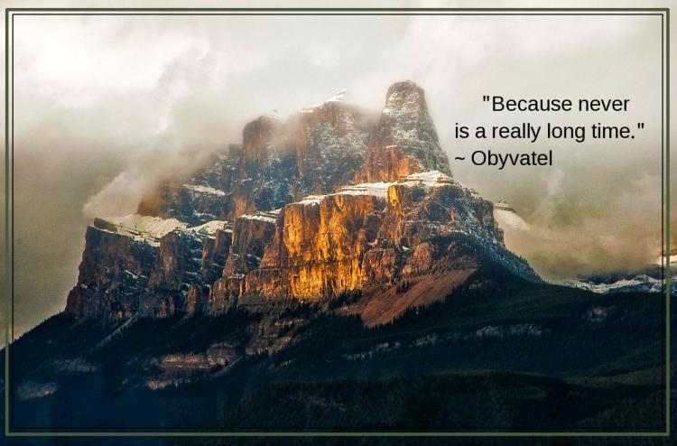 Castle Mountain by Troy Mayhew